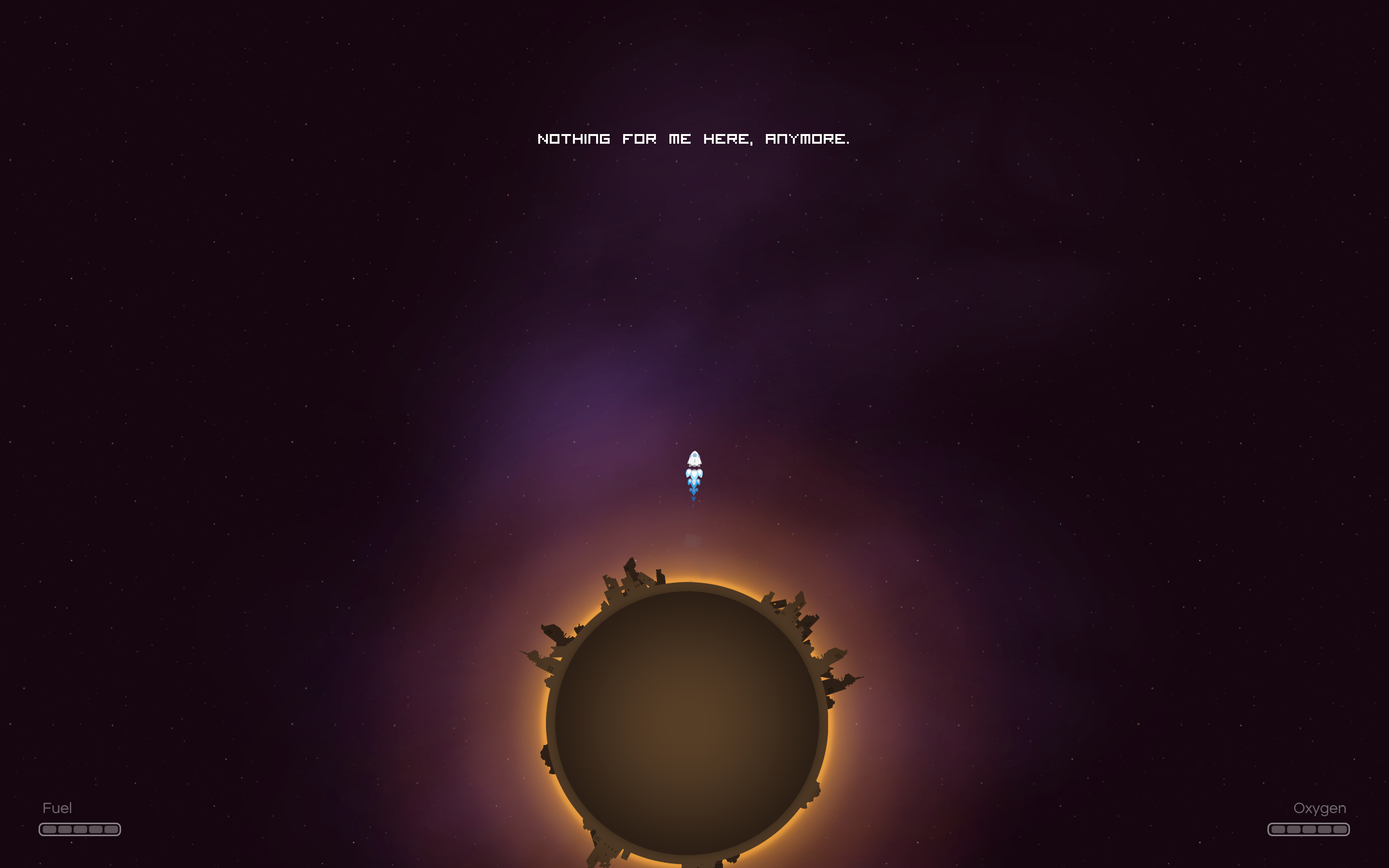 last horizon offers minimalist space exploration from pixeljam